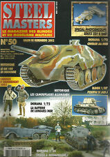 STEEL MASTERS N° 50 CAMOUFLAGE ALLEMAND 34-45/ LONGUES SUR MER / PANZERJAGER I