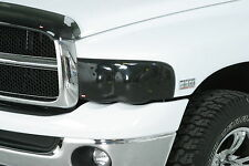Smoke Head Light Covers for 1997 - 2003 Dodge Dakota Pickup