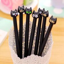 5 Stück Stift Rolle Niedlich Spaß Mode Schwarze Katze Fein Schwarz Kawaii Korean