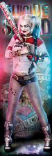 SUICIDE SQUAD - DOOR MOVIE POSTER / PRINT (HARLEY QUINN - BASEBALL BAT)