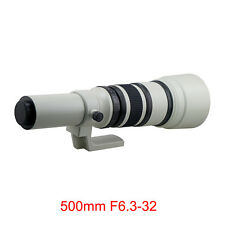 500mm F6.3-32 Telephoto Lens For Sony A55 A37 A35 A33 A900 A700 +T Mount Adapter