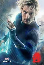 MARVEL The Avengers : Age of Ultron Quicksilver 24x36 inches Silk Poster