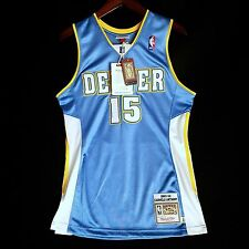 100% Authentic Mitchell & Ness Carmelo Anthony Nuggets NBA Jersey Size 36 S