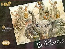 HaT 8023 - War Elephants              1:72 Plastic Figures Model Kit-Wargaming