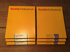 6 BOXES OF KODAK FILM 8x10 3 packs 160NC+3packs TRI-X TXP 320 B&W