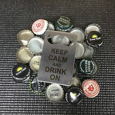 KEEP CALM & Drink on, Man Card bottle opener, credit card sized