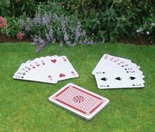 GIANT A3 SIZE JUMBO PLAYING CARDS FULL 52 CARDS DECK 36cm x 26cm (RMS)