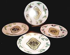 """STUNNING, SPECIALITE' HUILE D'OLIVE,FRANCE, SET 4 """"PROVINCE"""" PLATES BY """"ROSANNA"""""""