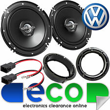 "VW Passat B5 1996 - 2004 JVC 16cm 6"" Inch 600 Watts 2 Way Rear Door Car Speakers"