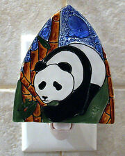 Pampeana artisan made glass night light - PANDA