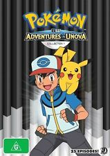 Pokemon - Black & White - Adventures In Unova And Beyond : Collection 1 (DVD, 20