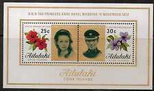AITUTAKI SGMS84 1973 ROYAL WEDDING  MNH