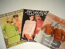 Ladies Vintage Mohair knitting patterns Dresses, Sweaters, Coats