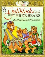 Goldilocks and the Three Bears by Jan Brett (1996, Paperback)