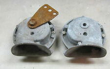 Sunbeam Alpine / Tiger Clear Hooters Horn Pair Hooter Horns (2) H & L Used Orig
