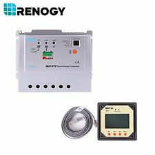 Auction Renogy MPPT 20Amp Charge Controller with MT-5 Tracer Meter