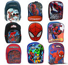 Marvel Avengers Spiderman Ultimate Hero School Bag Rucksack Backpack New Gift