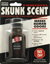 Buck Stop Skunk Scent -- Hunting Cover Scent - Masking Scent - Odor Cover