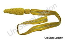 RAF Sword Knot Royal Air Force Gold & Sky Blue R165