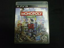 Replacement Case (NO GAME) MONOPOLY STREETS PLAYSTATION 3 PS3