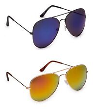 MagJons stylish Blue & Yellow Mirror sunglasses for men