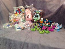 McDonald's & Burger King Spiderman, Peter Pan & Toy story toys