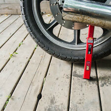 Tirox SnapJack Portable Motorcycle Lift/Jack For Cleaning Rim, Oiling Chain Red