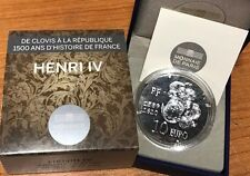 France 2013 HENRI IV 10 euro Silver Proof - Francia € silber argent