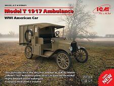 ICM - 35661 - Model T 1917 Ambulance, WWI American Car - 1:35