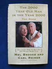 THE 2000 YEAR OLD MAN IN THE YEAR 2000 - SIGNED by MEL BROOKS & CARL REINER