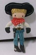 Vintage Joan Walsh Anglund Cowboy Boy 1959 Determined Productions Doll