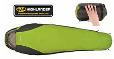 Highlander Travel Pac-Tec 100 Mummy Compact Lightweight Sleeping Bag Pac Tec New