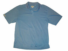 Callaway Short Sleeve Golf Polo Shirt L Blue