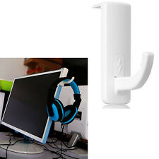 New Sell Headphone Headset Hanger PC Monitor Holder Wall PC Monitor Stand White