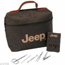 JEEP LIBERTY COMPASS WRANGLER CHEROKEE MANICURE PEDICURE KIT SET VANITY BAG!