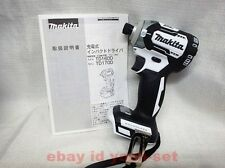 MAKITA TD170DZ impact driver White TD170DZW 18V body only Latest made in japan