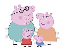 L102 Peppa Pig Wall Art Wallart Bedroom  Cartoon Baby Nursery