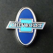 CHEVROLET CHEVY ROUND CLASSIC LOGO LAPEL PIN BADGE APPROX 1 INCH
