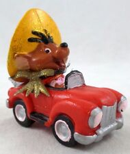 WB Speedy Gonzales in Car  BULLY PVC Toy Looney Tunes Warner Brothers Set Lot