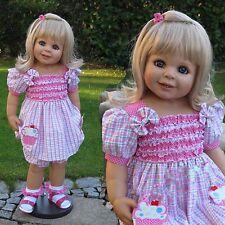 "Masterpiece Dolls, Pocketful of Sweetness Blonde, 32"" by Monika Peter-Leicht"