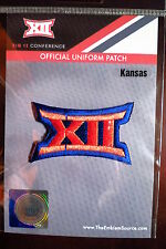 Official Licensed NCAA College Football Kansas BIG 12 Conference Patch