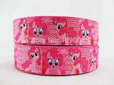 "Pinkie Pie Ribbon My Little Pony 1"" Wide NEW UK SELLER FREE P&P"