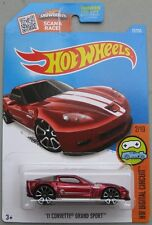 Hot Wheels 2016 Treasure Hunt '11 CORVETTE GRAND SPORT C6 red