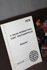 3° SALON INTERNATIONAL D'ART PHOTOGRAPHIQUE MARIGNANE 1978 AEROSPATIALE