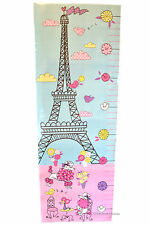 Paris Eiffel Tower Peel & Stick Wall Decal Mural Stickers Height Growth Chart