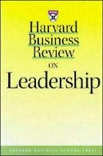 Harvard Business Review Paperback: Harvard Business Review on Leadership by...