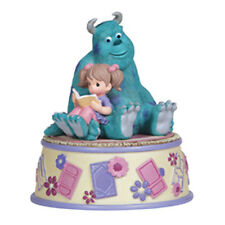 ♫ PRECIOUS MOMENTS DISNEY Musical Figurine MONSTERS INC Sculley Girl Music Box