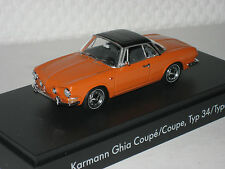 VW Karmann Ghia Type 34 orange 1:43 neu &  OVP 000.099.300.AB.K2Y