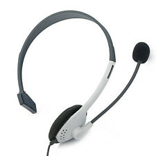 HeadPhone Head Set With Microphone w/ Mic For XBOX 360 Live Headphone Earphone