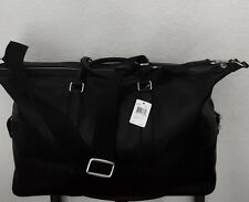 COACH Mens Leather Explorer 52 Duffle in Black Large F93469 NWT MSRP $795